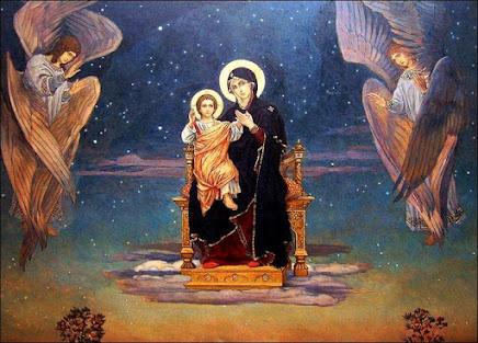 María, tu eres nuestra santa alegría...