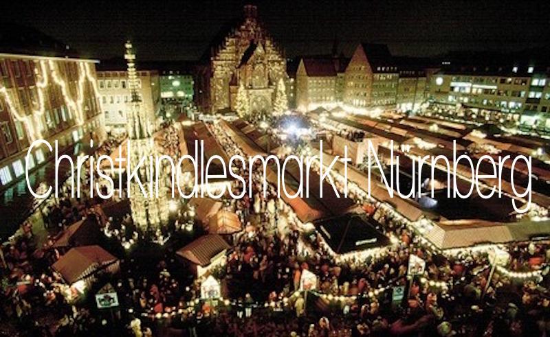 Weihnachtsmarkt Deutschland Nürnberg Christkindlesmarkt Beste Weihnachtsmärkte