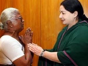 Jayalalitha with Arputhammall