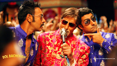 Bol Bachchan HD Wallpapers - Starring Ajay Devgn, Abhishek Bachchan, Amitabh Bachchan