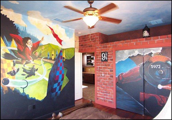 Декор комнаты в стиле гарри поттера своими руками 8767
