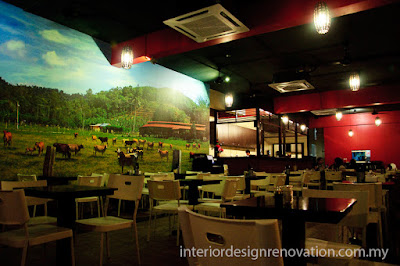 interior designer restaurant seremban renovation carpentry