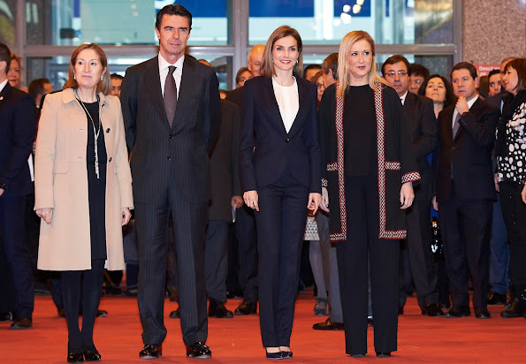 Queen Letizia of Spain attended the Opening of Internacional Tourism Fair (FITUR) at Feria de Madrid