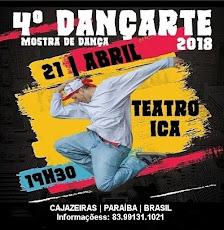 4º DANÇARTE 2018-MOSTRA DE DANÇA. DIA 21/ABRIL, 19H30, NO TEATRO ICA PIRES