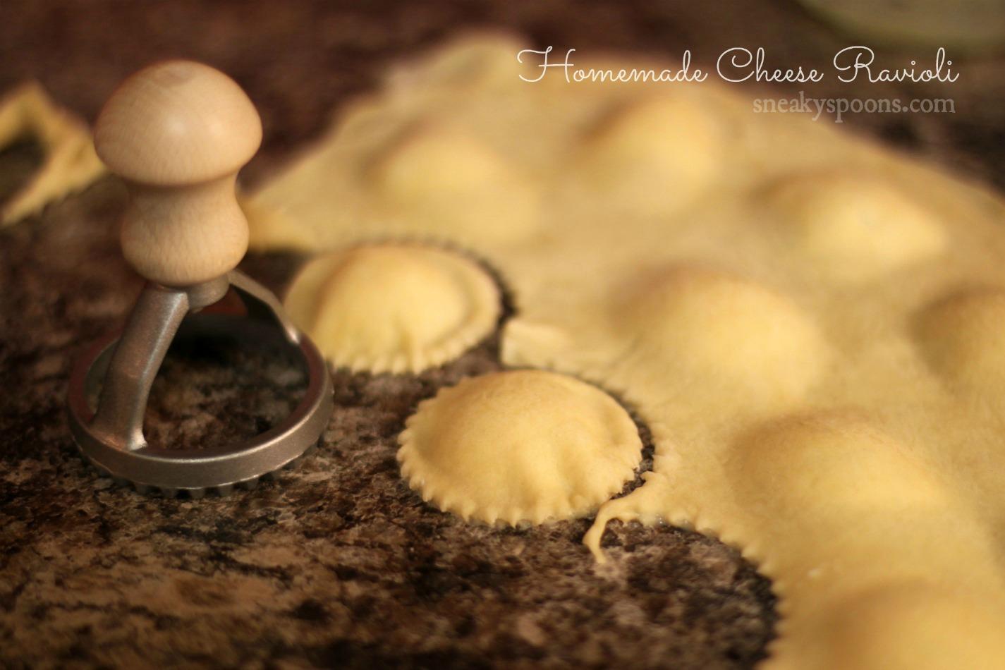Step By Homemade Cheese Ravioli