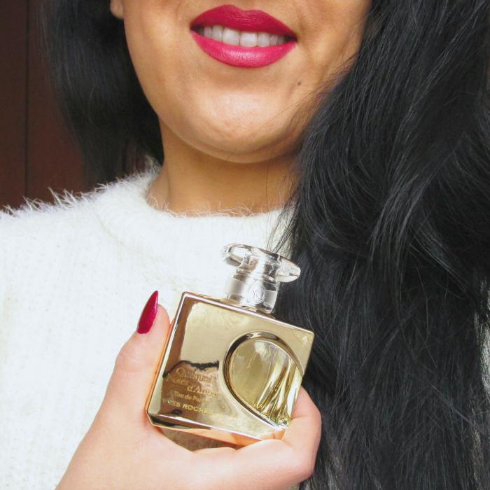 Yves Rocher Blogger Challenge Quelques Notes d'Amour Parfum