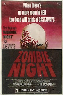 Zombie Night poster by Andrew Davis