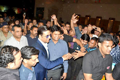 Akshay Kumar & Paresh @ OMG Oh My God! special screening