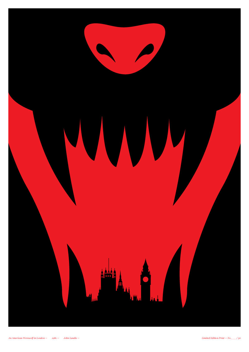 An American Werewolf in London print on sale here (UK only, I believe ...
