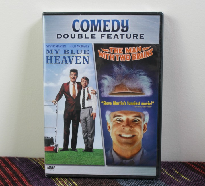 Steve Martin My Blue Heaven The Man With Two Brains double feature DVD