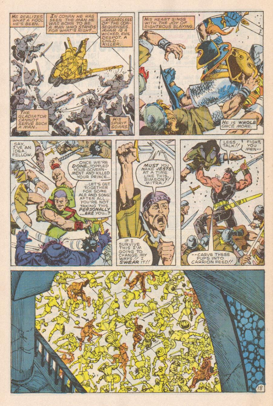 Conan the Barbarian (1970) Issue #191 #203 - English 19