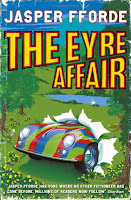 Book cover of The Eyre Affair by Jasper Fforde