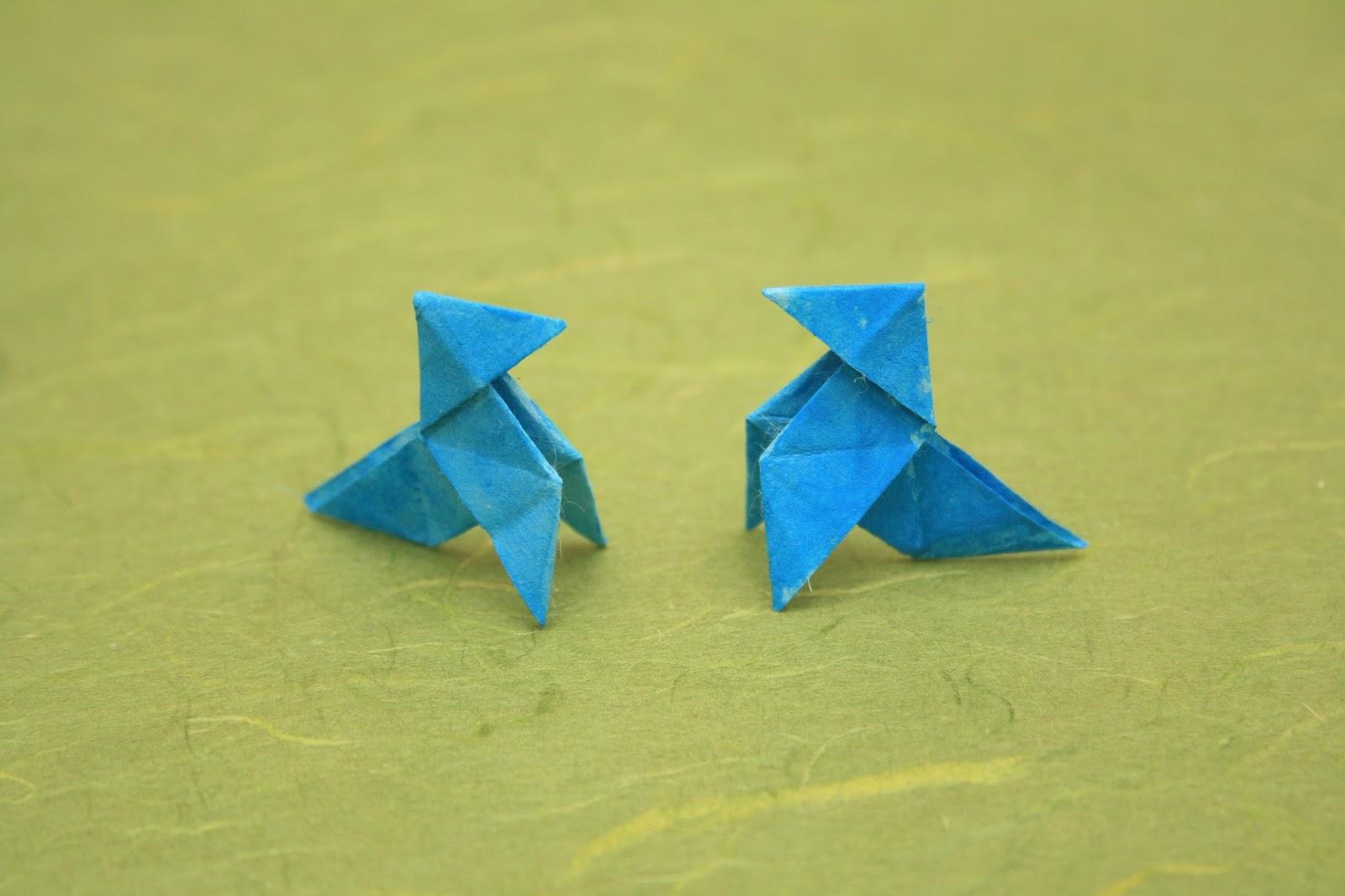 El origami de Picaruelo: LA ARPISTA