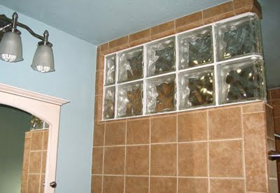 Modernas paredes de vidrio alife 39 s design - Pared de bloques de vidrio ...