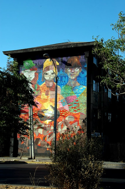 street art santiago de chile san miguel museo abierto arte callejero inti