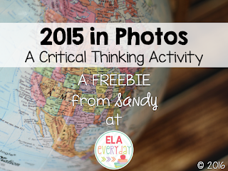 2015 in Photos - A Critical Thinking Activity