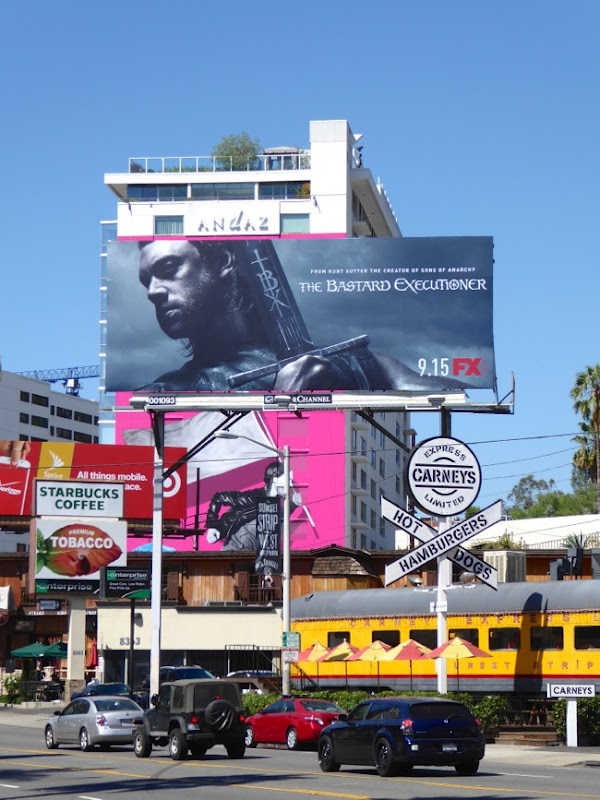 Bastard Executioner series premiere billboard