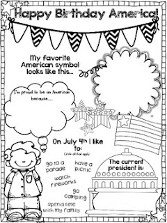 https://www.teacherspayteachers.com/Product/4th-of-July-Happy-Birthday-America--750723