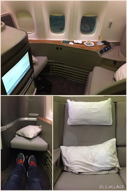 [萊恩飛行紀錄] Cathay Pacific 國泰航空長程線頭等艙 / 舊金山 ~ 香港 ~ 台北 SFO ~ HKG ~ TPE