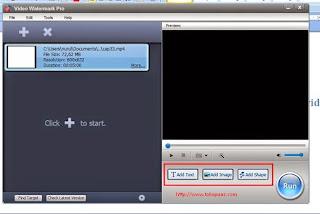 membuat video watermark pro di komputer