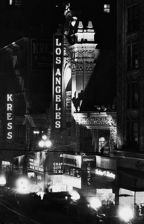los angeles theatre charlie chaplin city lights premiere 1931