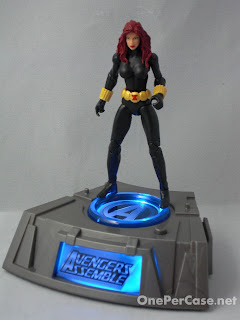 One Per Case: Marvel Universe Avengers Light-Up Base Wave 2 - Black Widow (Plus a Variation)