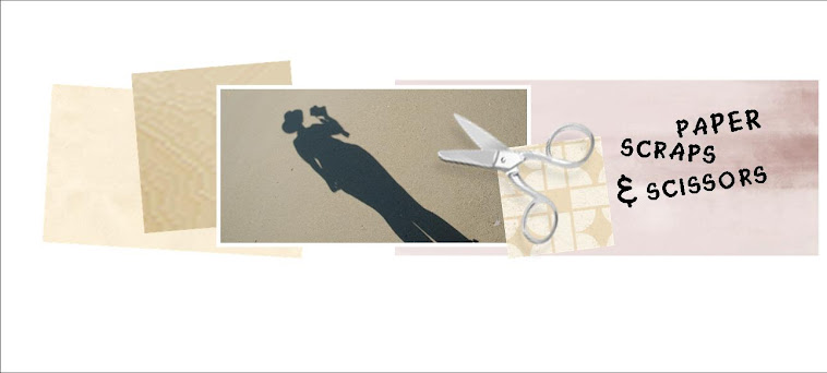paper scraps and scissors