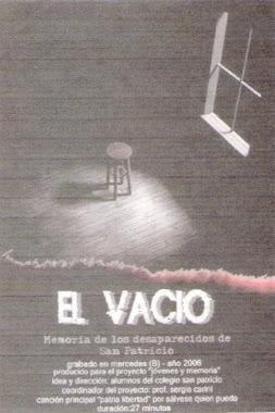 """Afiche Película """"El Vacío"""""""