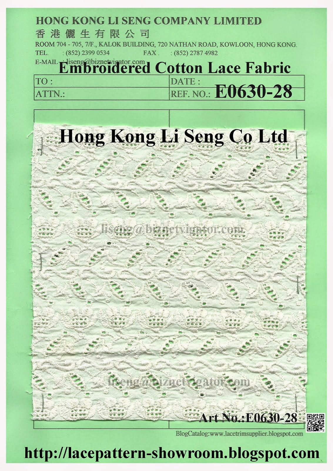Embroidered Cotton Lace Fabric For All Kind Home Textile Cotton Lace Fabric Manufacturer Wholesaler