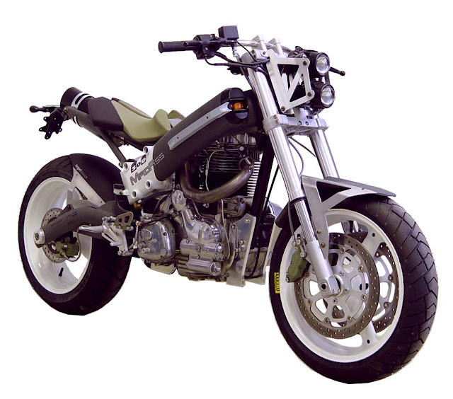 The Sachs MadAss 500 Concept Powered by the Royal Enfield 500 Engine made in India