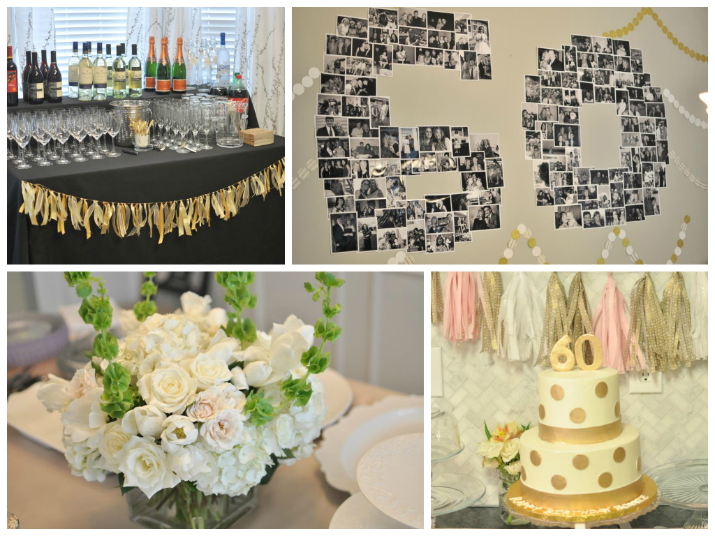 Not so newlywed mcgees january 2014 for 60th anniversary party decoration ideas