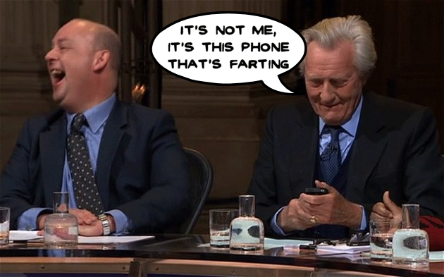 Michael Heseltine embarrassed on TV by a smart watch fart app