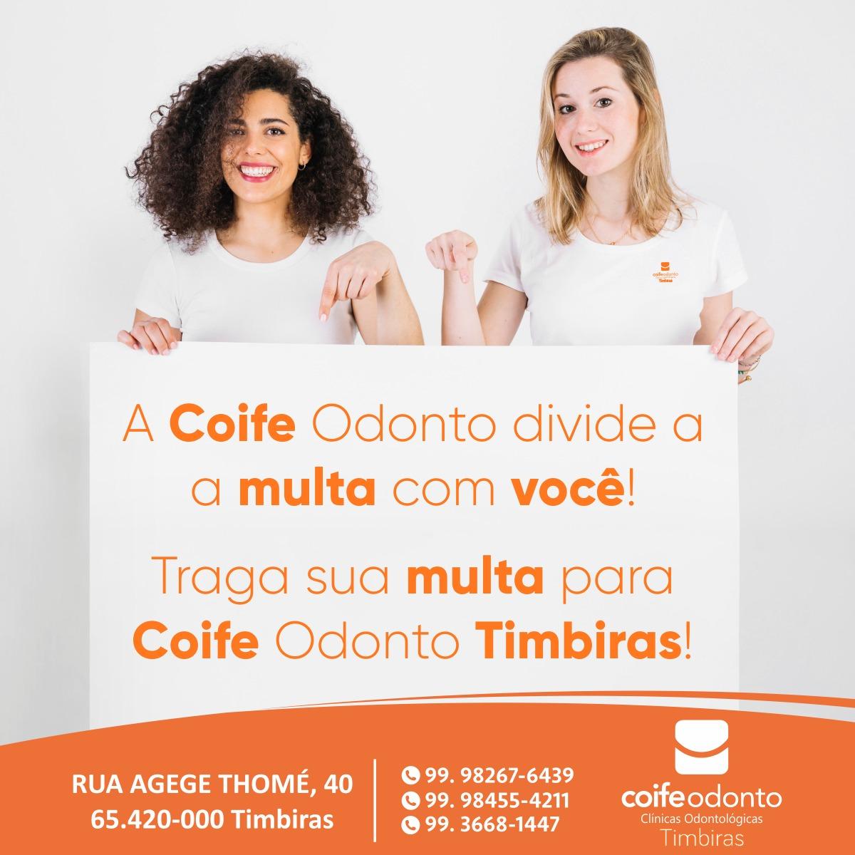 COIFE ODONTO EM TIMBIRAS