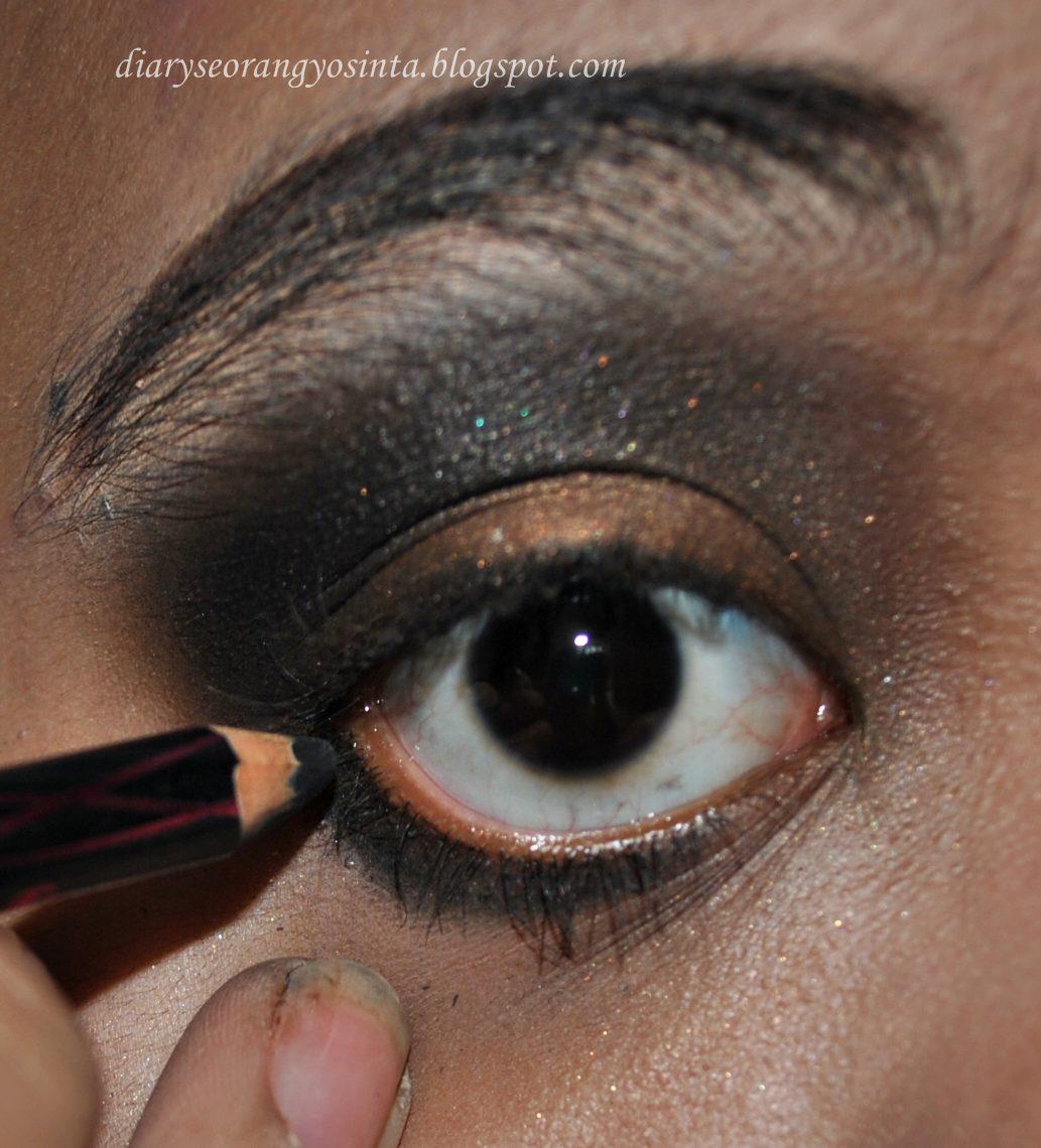 Ladypon MUA Looxgiveaway Tutorial Eye Make Up Flapper