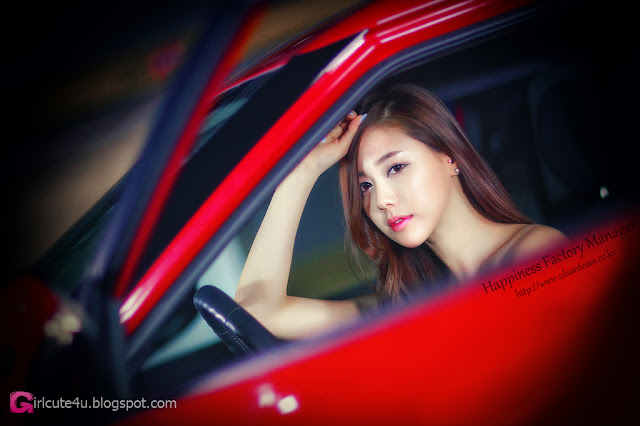 2 Kim Ha Yul - Sexy Mechanic  - very cute asian girl - girlcute4u.blogspot.com
