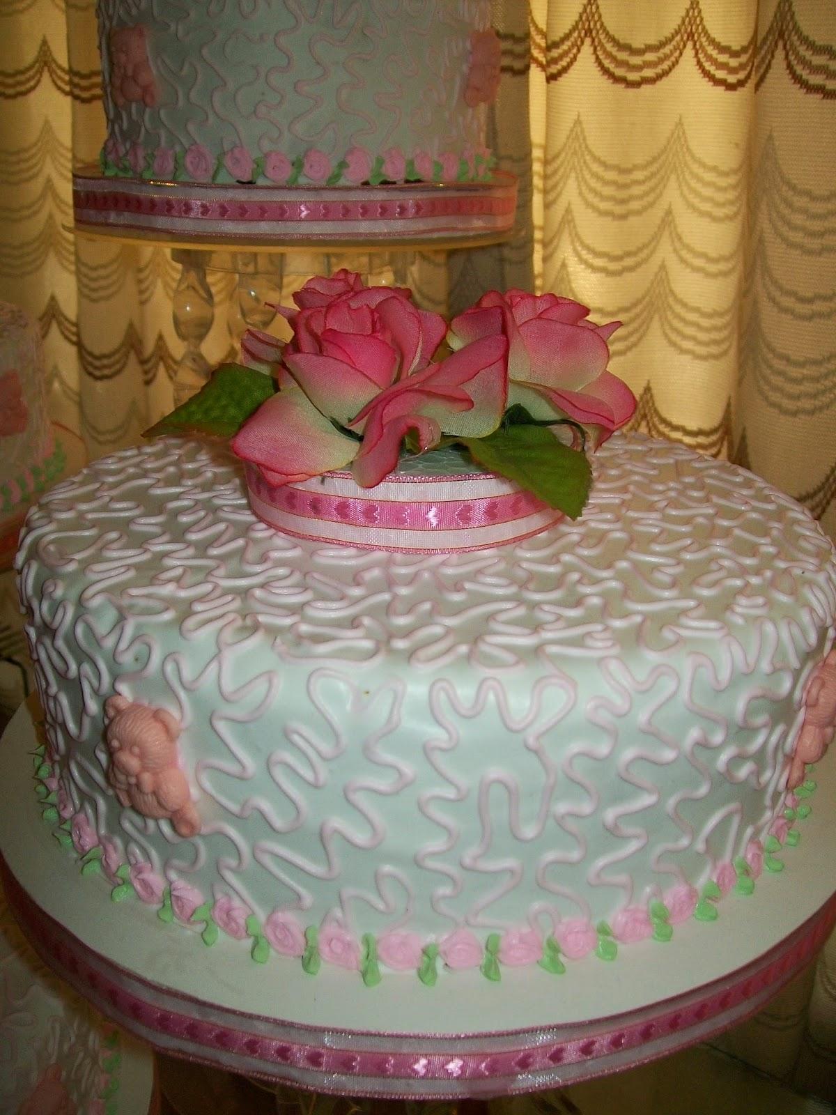 Tortas para bautizo comuni n y confirmaci n la casita for Decoracion de tortas para ninas