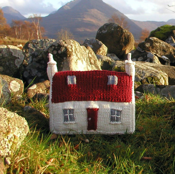 Knit your own house pdf knitting pattern for House pattern