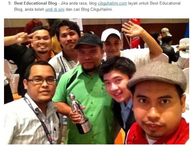 Broframestone promote blog cikguhailmi #MSMW2014