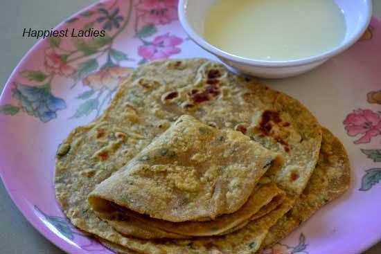 Methi Paratha Recipe