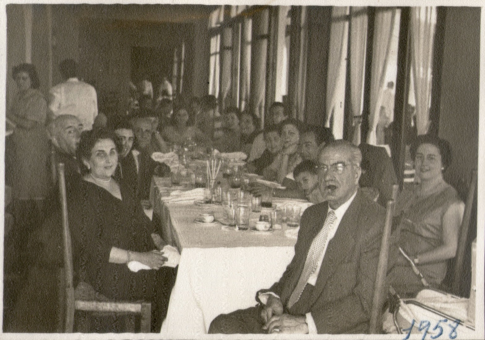 Restaurante Benimar, Nazaret, Valencia, 1958