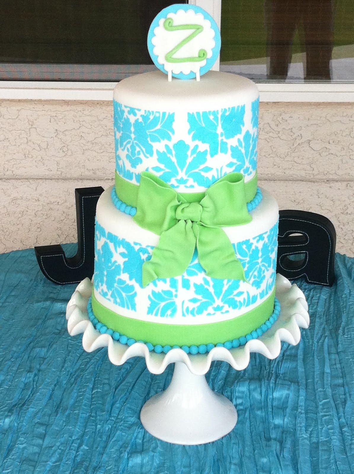 SASSY CAKES - Your Fondant Cake Design Destination: Blue ...