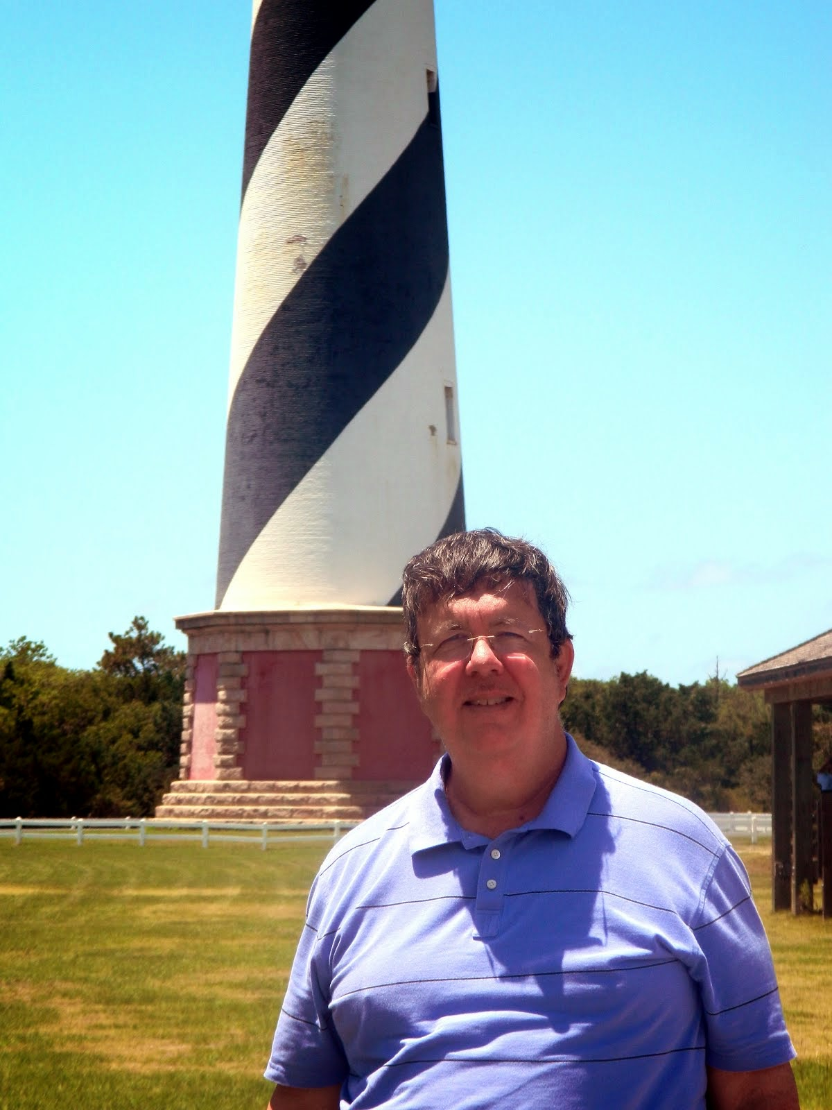 AT CAPE HATTERAS LIGHT HOUSE