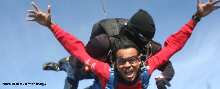 skydiving in chennai