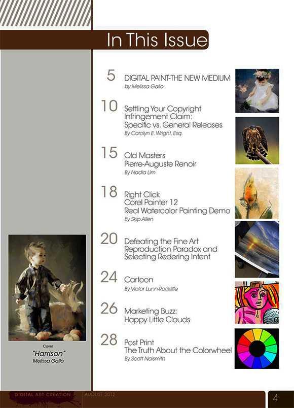 Digital Art Creation August 2012