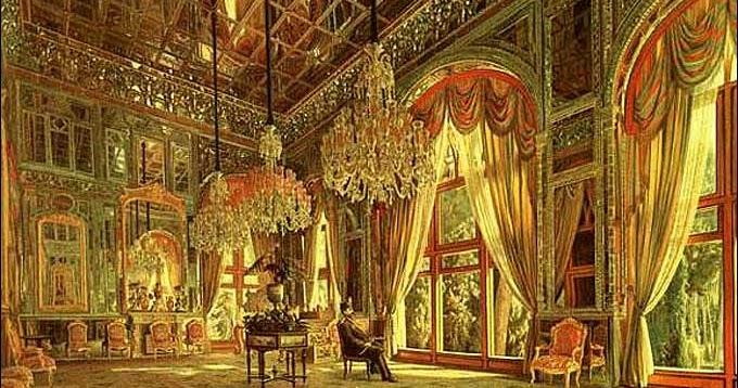 Le blog de sindbad puzzle kamal ol molk les miroirs aux for Miroir au alouette