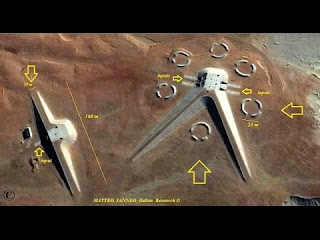 Alien Base Found in Egypt Through Google Earth?