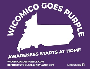 Wicomico Goes Purple