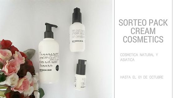 SORTEO PACK DE CREA-M COSMETICS