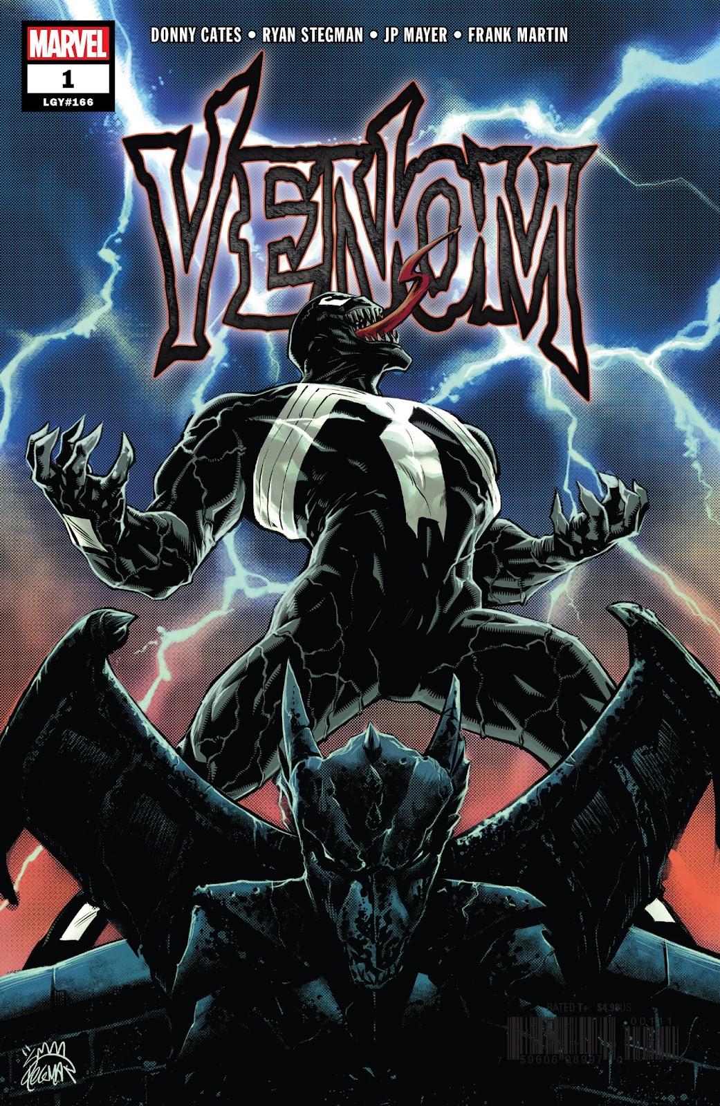 Venom (2018) issue 1 - Page 1