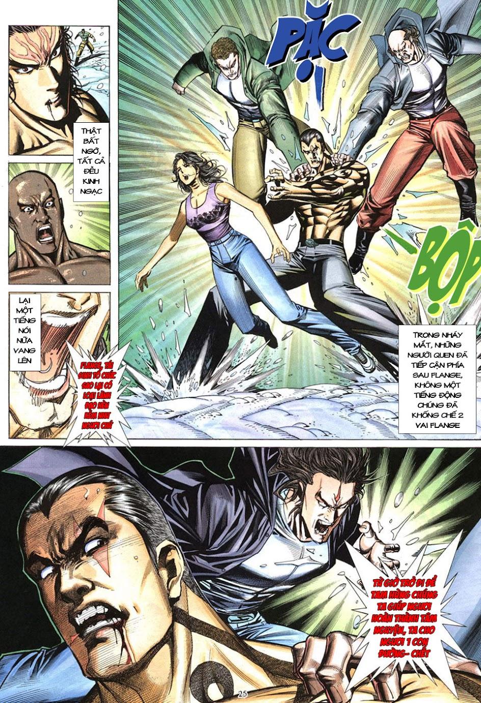 Phong Lôi chap 40 - Trang 26